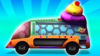 xe kem | gara ô tô | nhac thieu nhi hay nhất | Ice Cream Van | Kids Tv Channel Vietnam