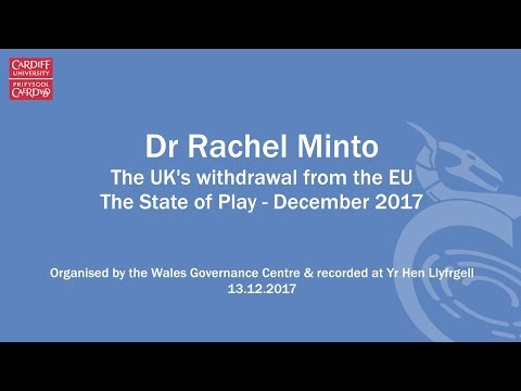 The State of Play on UK withdrawal from the EU