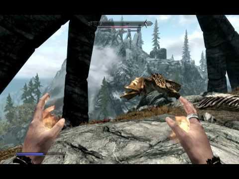 Skyrim - Slaying an Elder Dragon