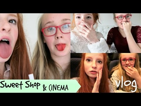 American Candy Sweet Shop and Cinema Vlog | NiliPOD