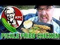 KFC 🥒🍗 PICKLE FRIED CHICKEN + DRIVE THRU RAGE! LOL