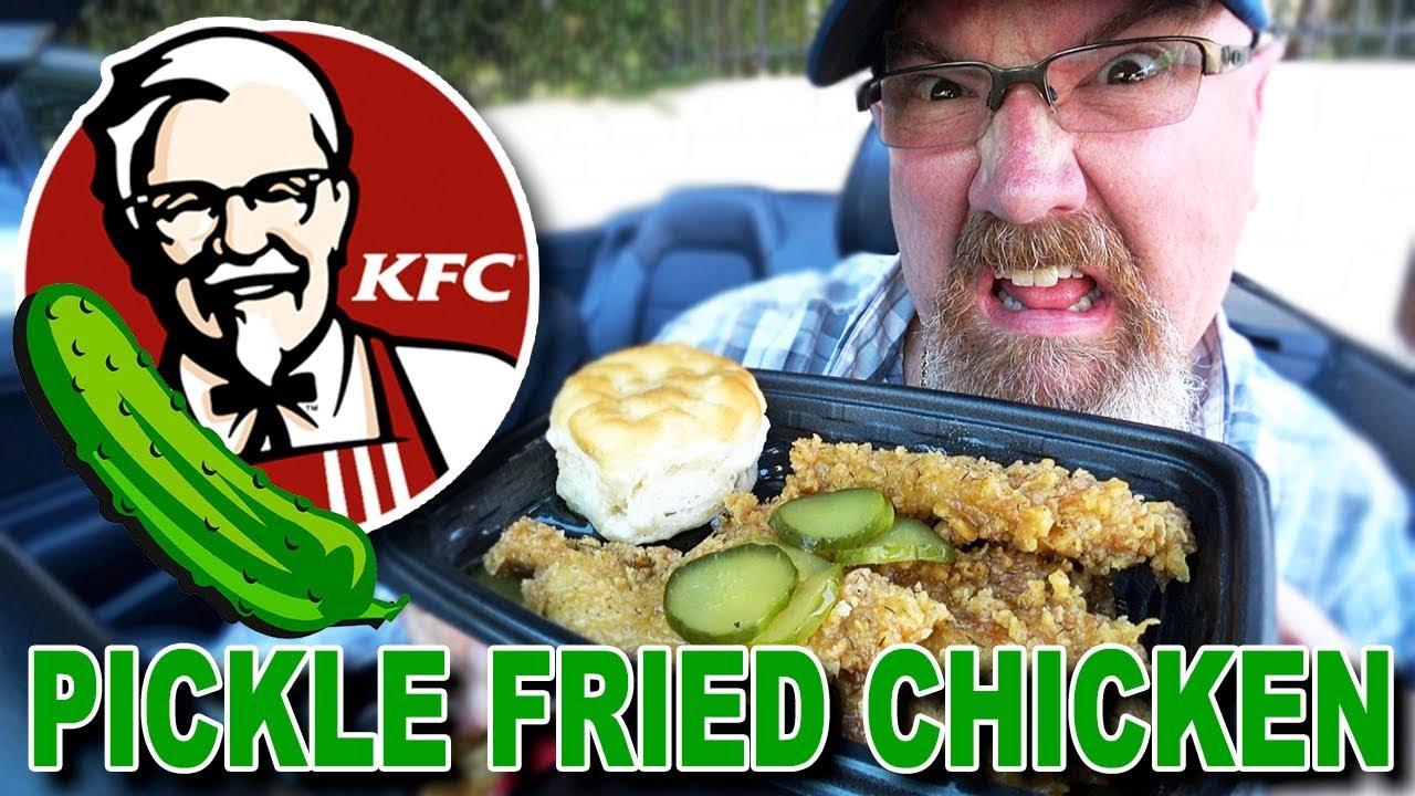 KFC ???????? PICKLE FRIED CHICKEN + DRIVE THRU RAGE! LOL