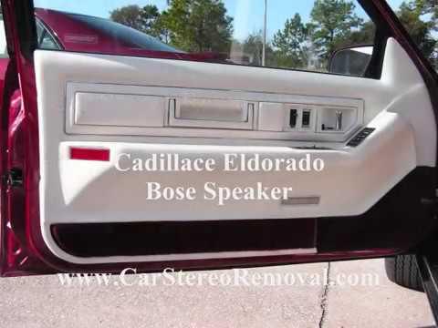 Cadillac Eldorado Speaker Removal - Bose Amplifier