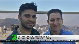 Gagging Guardian: UK govt threatens newspaper over Snowden's leaks