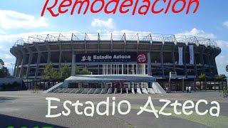 Asi Quedara El Estadio Azteca 2017 (Informacion Real)