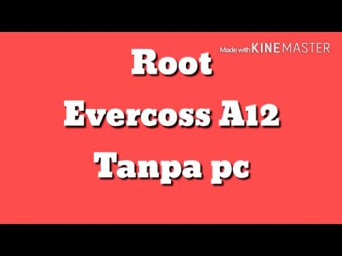 Cara Root Evercos A12 Tanpa pc