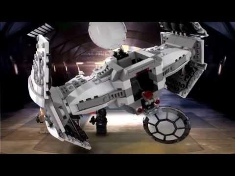 Lego Star Wars | 75082 | TIE Advanced Prototype | Lego 3D Review ...