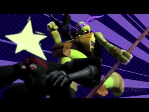 Teenage Mutant Ninja Turtles 2012 Intro (2003 Theme)