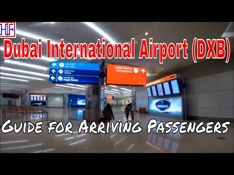 Dubai International Airport (DXB) – Arrivals and Ground Tran