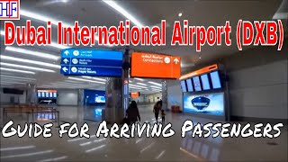 Dubai International Airport (dxb) – Arrivals And Ground Transportation Guide   Travel Guide   Ep#1
