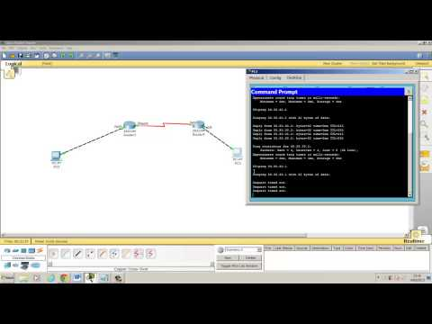 How to configure Rip Version 2 using Cisco Packet Tracer