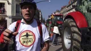 manif nddl nantes 24/03/2012. NoPub NoSub Automedia
