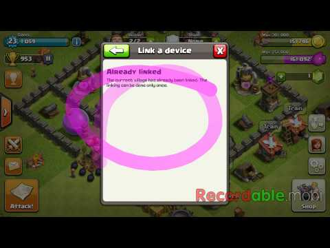 How To Link Your Clash Of Clans To Another Device