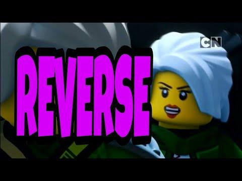 LEGO Ninjago -Lloyd vs Harumi (reversed)