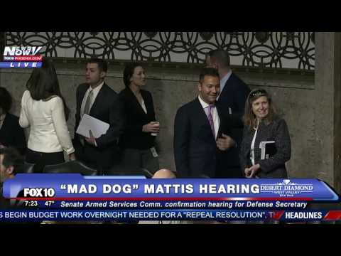 FNN: Hearings for Mike Pompeo - Donald Trump's CIA Pick FULL COVERAGE Mad Dog Mattis Hearing