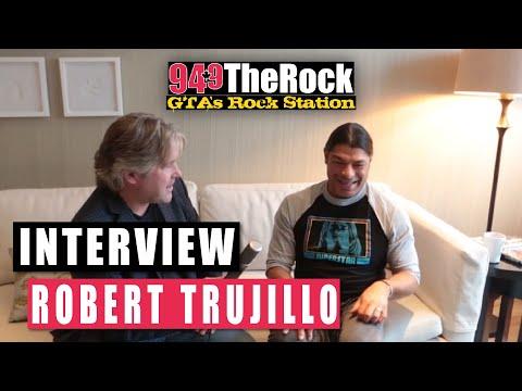 94.9 The Rock Interview: Metallica's Robert Trujillo (30/11/2016)