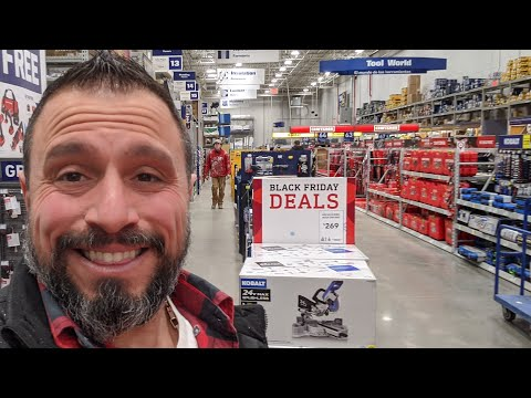 Tool Deals You Missed (Black Friday) Lowe's Home Improvement