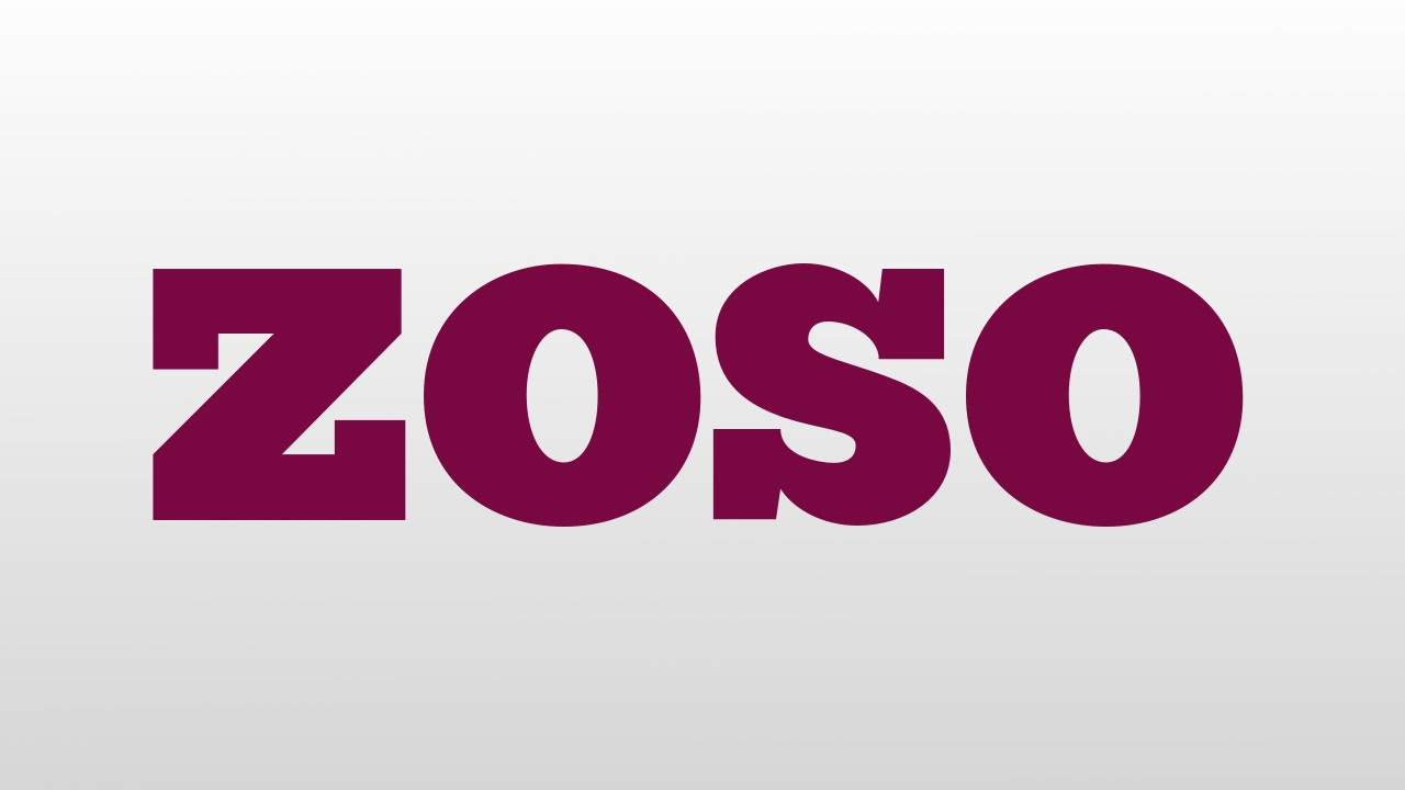 Zoso Meaning And Pronunciation Youtube