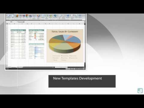 CFO Templates - Microsoft Excel Templates - YouTube