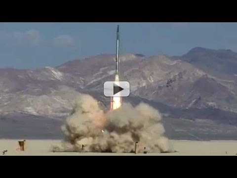 Amateur Rocket Blasts Into Stratosphere