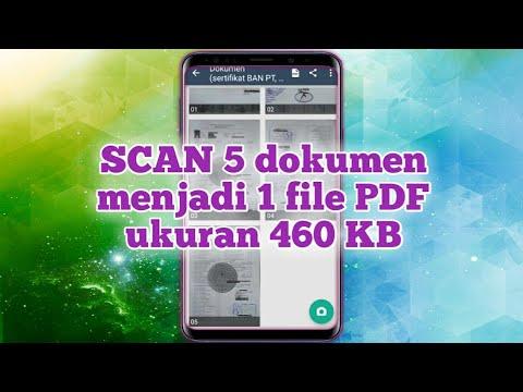 Cara Scan Banyak Dokumen Dan Digabungkan Menjadi Satu File Pdf Di Hp Android Youtube
