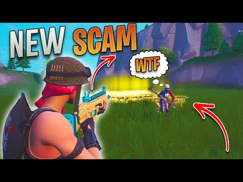 *NEW SCAM* The Auto Run SCAM! (Scammer Gets Scammed) In Fortnite Save The World Pve