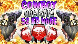 THE COWBOY NUCLEAR! - Black Ops 2 PC Nuclear - (Call of Duty: Black Ops 2 Multiplayer)