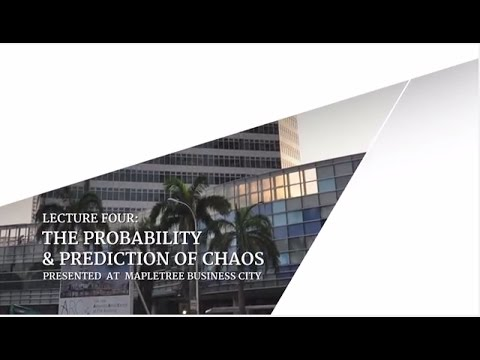 """""""The Probability & Prediction of Chaos"""" - The Post LKY Singapore Lectures #4"""