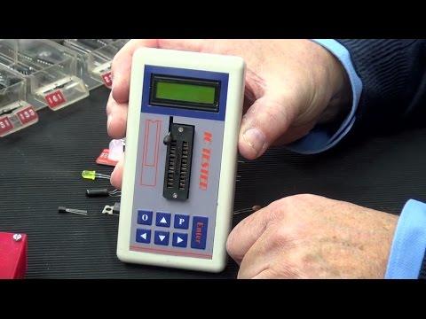 Neuer IC-Tester und Bauteiltester