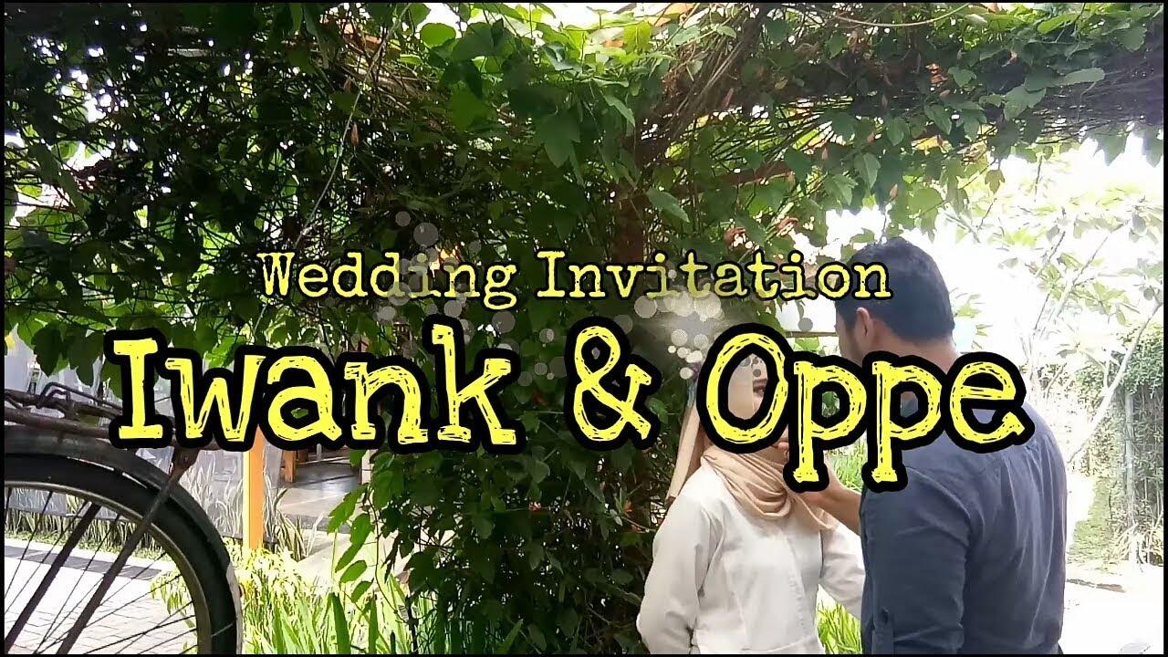 Contoh Video Wedding Invitation Untuk Instagram Youtube