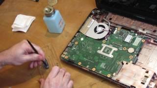 What I fix daily - April 10, 2017 - Toshiba C665 hinge fix with JB Weld