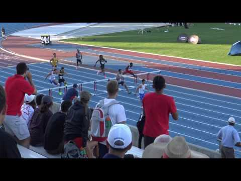 Fernando and Rex 400m hurdle final @ Mountain West Conference Championship