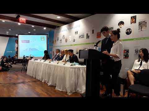 NAE Students Present at UNICEF HLP Forum in New York | British International School HCMC