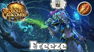 Gameplay Freeze Mage Kobolds And Catacombs | Hearthstone Guide How To Play