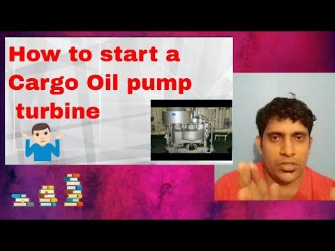 COPT/Running and procedure of COPT/ Cargo oil pump