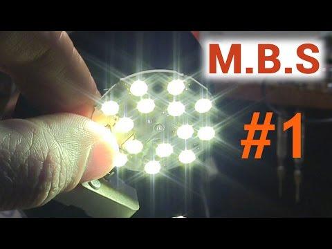 Как самому сделать светодиодную лампу