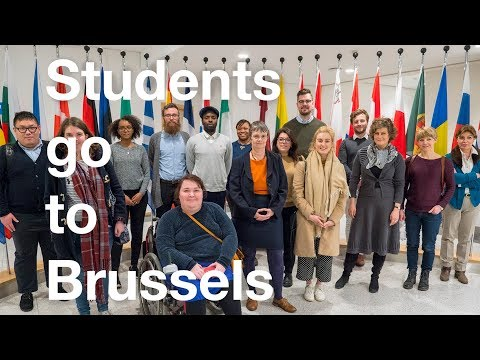 MA International Relations and Security study trip to Brussels | Oxford Brookes University