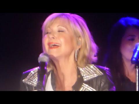 OLIVIA NEWTONJOHN live Oct 7, 2017 San Diego: Grease Reunion, Over the Rainbow, etc.