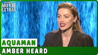 AQUAMAN | Amber Heard talks about the movie - Official Interview