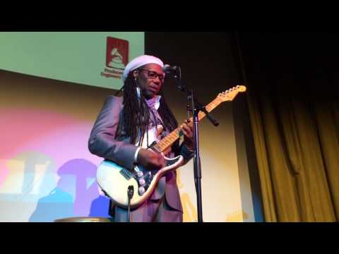 "Nile Rodgers Tells the Story of David Bowie's ""Let's Dance"""