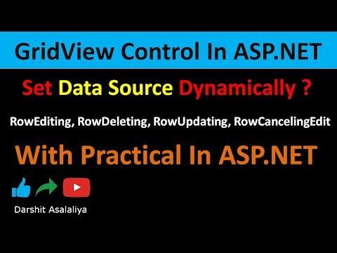 RowUpdating, RowDeleting, RowEditing, RowCancelingEdit Event In GridView In ASP.NET