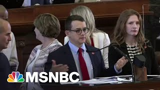 Racist Relic Caught Creeping Into New Texas Voter Suppression Bill | Rachel Maddow | MSNBC