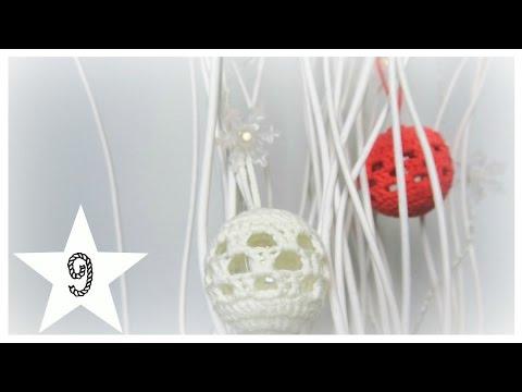Türchen 9| Weihnachtskugel| biggihäkelt - YouTube