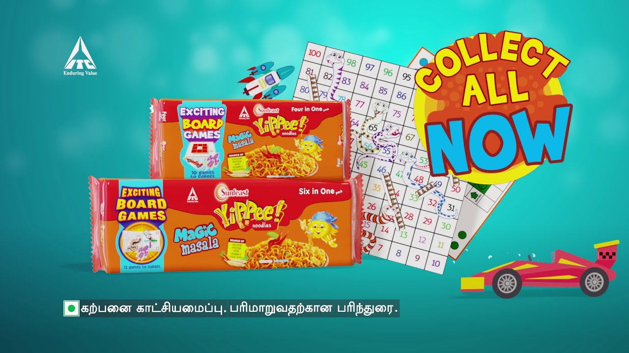 YiPPee! TRAY PACK | Snakes & Ladder - TAMIL