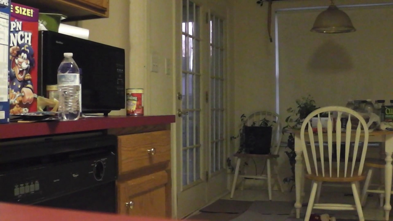 REAL SCARY - Poltergeist activity filmed in family kitchen - Ghost ...
