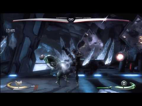 """Injustice - Catwoman Combo Compilation """"Get Scratched!"""" By TylerLantern - IGAU"""