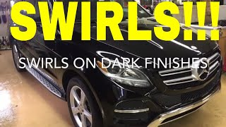 Removing Heavy Swirls From Dark Finishes! (Hard Clear Coat)