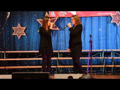 Międzynarodowy Festiwal Kolęd i Pastorałek Będzin 2016 - Koncert finałowy - duet Weronika & Emilia