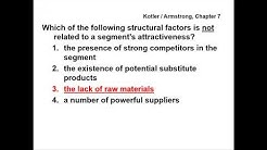 Principles of Marketing - QUESTIONS & ANSWERS - Kotler / Armstrong, Chapter 7