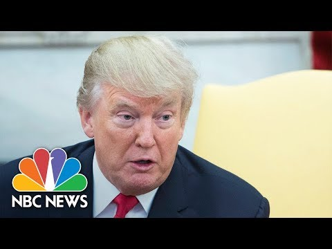 President Donald Trump Delivers Statement On Jerusalem | NBC News